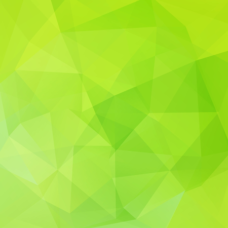 Abstract polygonal vector background. Green geometric vector illustration. Creative design template. Stock Photo
