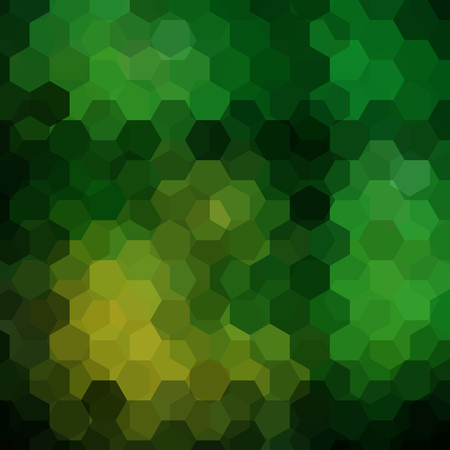 breen: Background of geometric shapes. Green mosaic pattern.