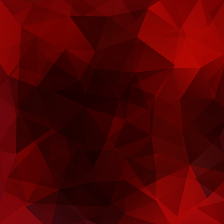 low perspective: Polygonal dark red vector background. Can be used in cover design, book design, website background. Illustration