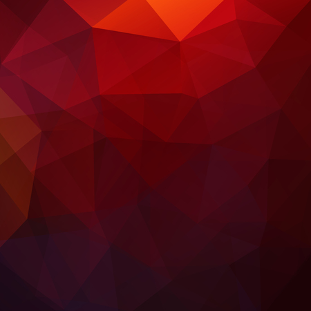 Abstract geometric style red background.
