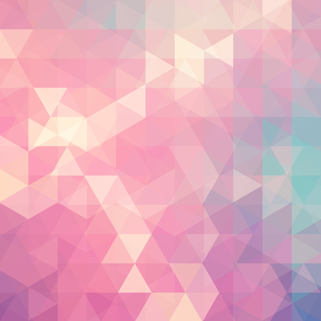 dimension: Abstract vector background with triangles. Pastel geometric vector illustration. Creative design template.