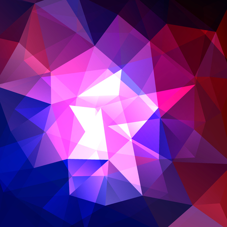 dimension: Abstract polygonal vector background. Geometric vector illustration. Creative design template.