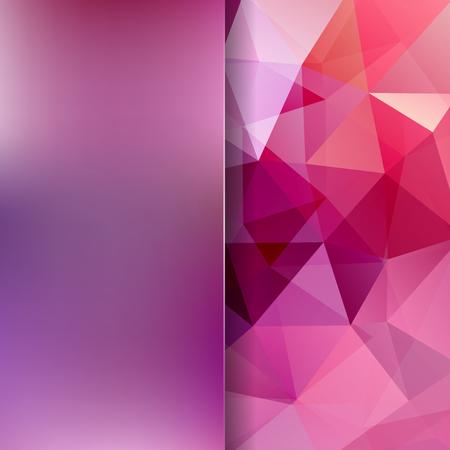 matt: Abstract polygonal vector background. Pink geometric vector illustration. Creative design template. Abstract vector background for use in design