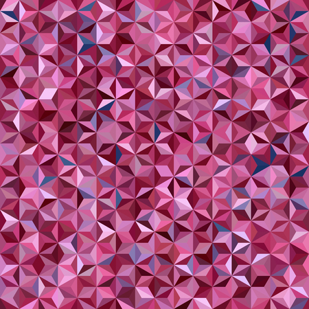 Vector seamless abstract background for design with triangles. Vector illustration. Pink, purple colors. Illustration