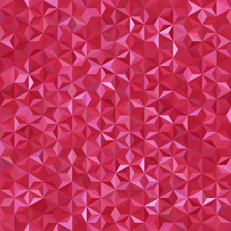 Abstract seamless background consisting of red triangles. Geometric design for business presentations or web template banner flyer. Vector illustration Imagens - 87767283