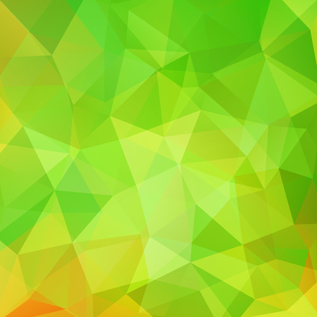 Abstract polygonal vector background. Green geometric vector illustration. Creative design template. Illustration