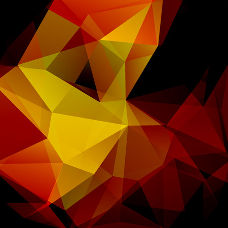Polygonal vector background. Can be used in cover design, book design, website background. Dark brown color.