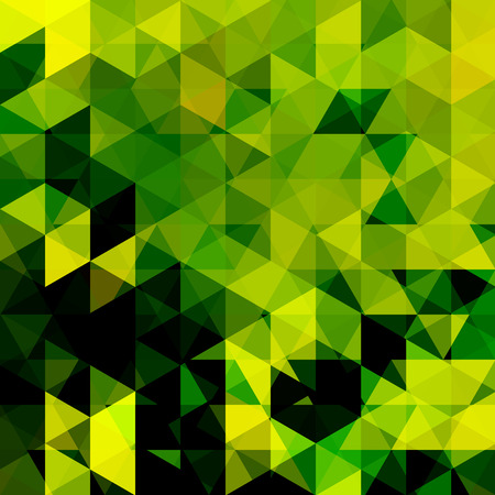 Abstract green geometric template design. Illustration
