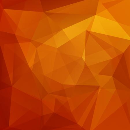 Abstract geometric style orange background. Orange business background Vector illustration 일러스트