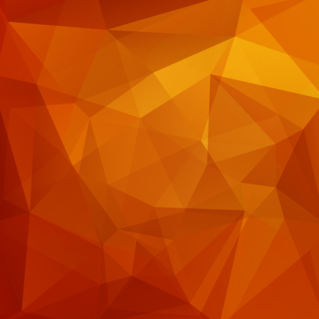 Abstract geometric style orange background. Orange business background Vector illustration Ilustrace