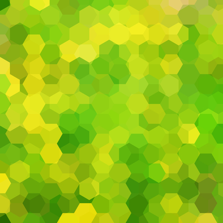 Abstract hexagons vector background. Illustration