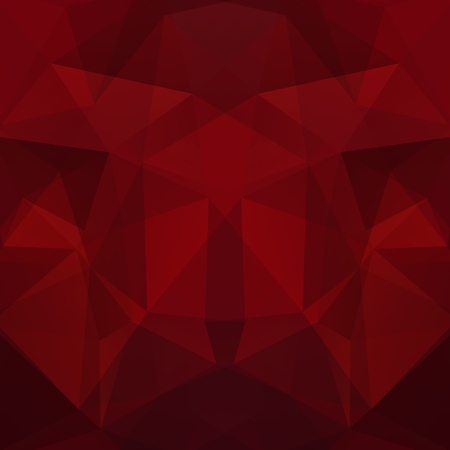 Abstract polygonal vector background. Dark red geometric vector illustration. Creative design template.  イラスト・ベクター素材