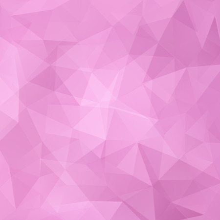 Abstract geometric style pink background. Business background Vector illustration