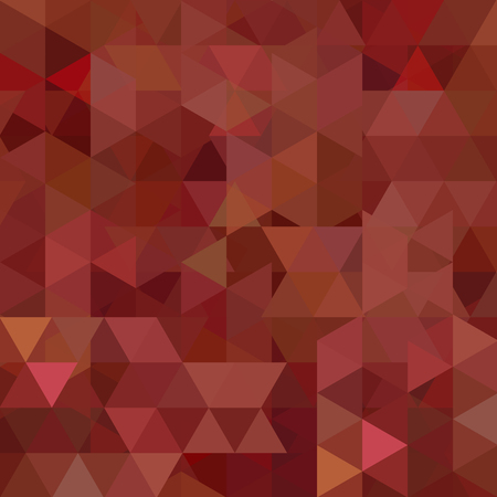 Geometric pattern, triangles vector background in brown tone. Illustration pattern