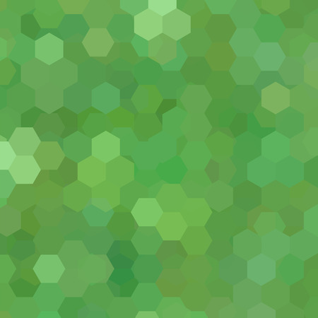 Geometric pattern, vector background with hexagons in green tone. Illustration pattern
