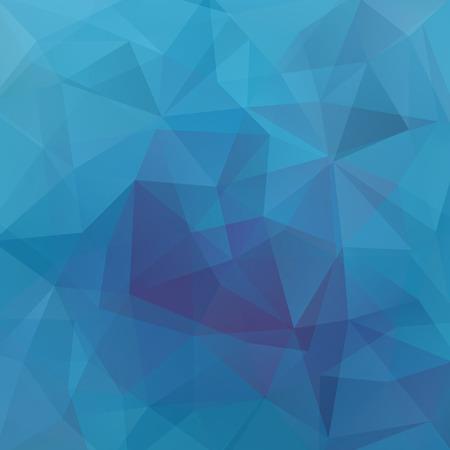 Abstract polygonal vector background. Blue geometric vector illustration. Creative design template. Illustration
