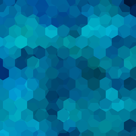 Background made of blue hexagons. Square composition with geometric shapes. Eps 10 免版税图像 - 126631543