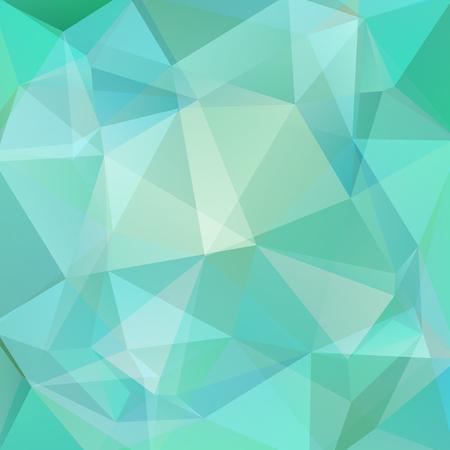 Fond de vecteur polygonale. Peut être utilisé dans la conception de la couverture, la conception de livres, l'arrière-plan du site Web. Illustration vectorielle. Bleu pastel, couleurs vertes. Vecteurs