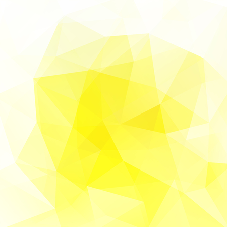 Polygonal yellow vector background. Can be used in cover design, book design, website background. Vector illustration