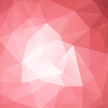 Background made of pastel pink triangles. Square composition with geometric shapes. 免版税图像 - 116344557