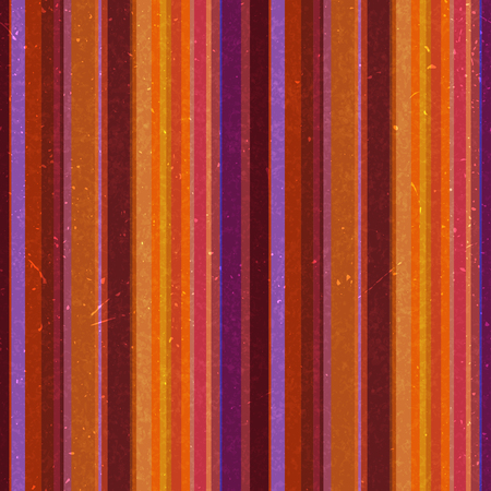 Vertical stripes pattern, seamless texture background. Ideal for printing onto fabric and paper or decoration. Orange, purple colors.