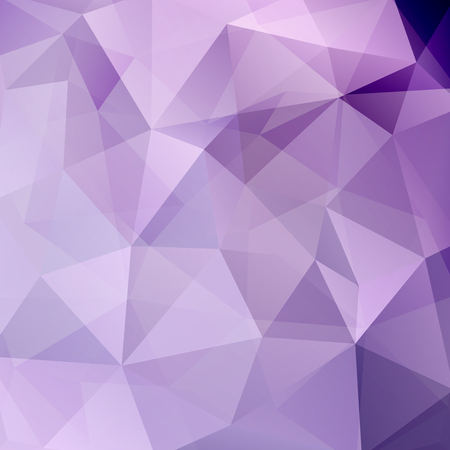 Abstract mosaic background. Triangle geometric background. Design elements. Vector illustration. Violet, purple, pink, white colors. Ilustrace
