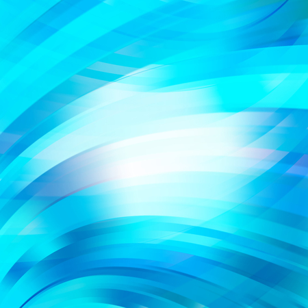 Smooth light lines background. Blue, white' colors. Vector illustration.