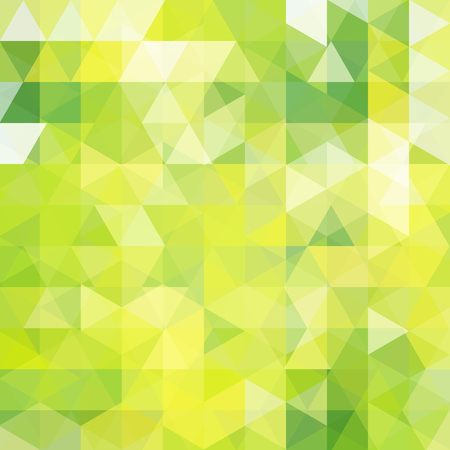 Abstract geometric style green background. Vector illustration Illustration