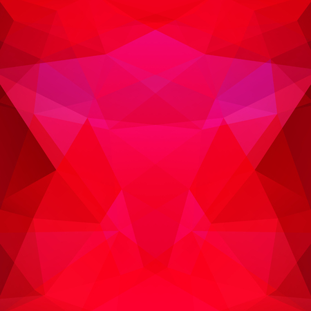 Abstract polygonal vector background. Red geometric vector illustration. Creative design template.