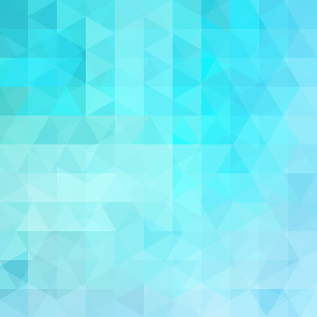 Geometric pattern, triangles vector background in blue tone. Illustration pattern Ilustrace