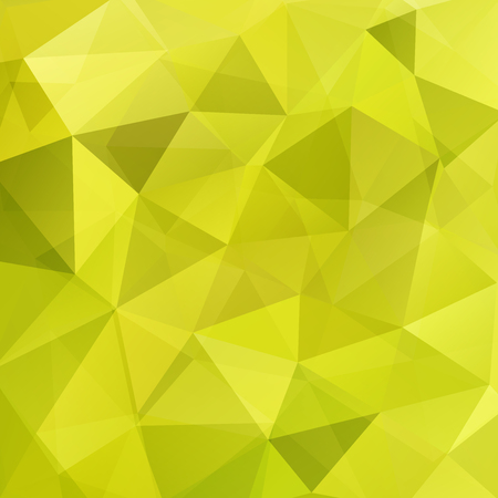 Background of geometric shapes. Green mosaic pattern. Vector illustration
