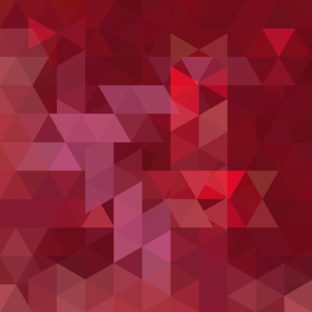 Triangle vector background. Can be used in cover design, book design, website background. Vector illustration. Red, brown colors.