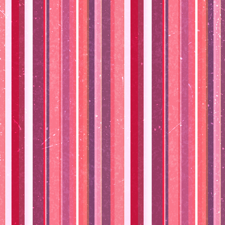 Vertical stripes pattern, seamless texture background. Ideal for printing onto fabric and paper or decoration. Pink, white colors. Stock Illustratie