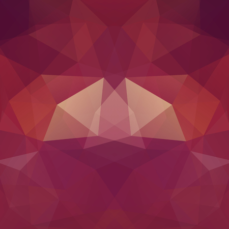Abstract geometric style brown background. Vector illustration
