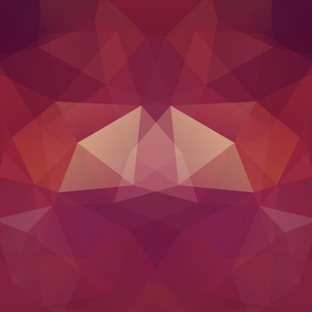 Abstracte geometrische stijl bruine achtergrond. Vector illustratie