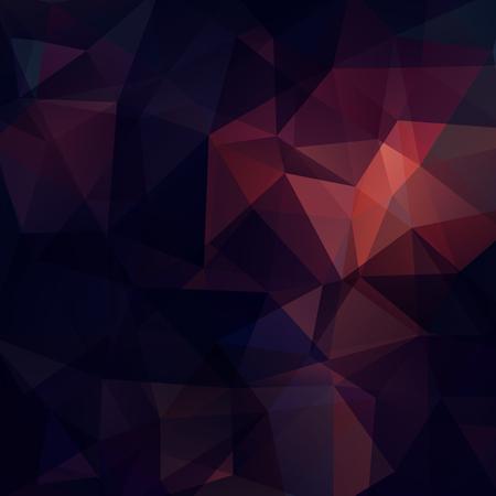 Fondo de formas geométricas de color púrpura, marrón. Patrón de mosaico. Ilustración vectorial