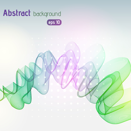 Abstract colorful template vector background. Vector illustration. Pink, green, yellow colors. 版權商用圖片 - 122511924