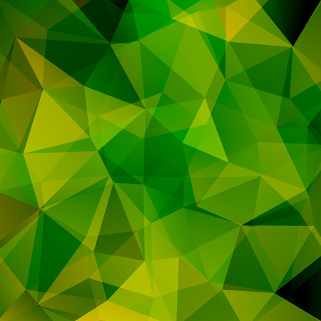 Abstract geometric style green background. Green business background Vector illustration