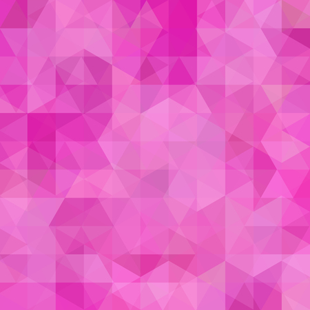 Abstract geometric style pink background. Pink business background Vector illustration