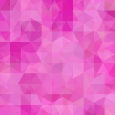 Rosa Hintergrund der abstrakten geometrischen Art. Rosa Business-Hintergrund Vektor-Illustration