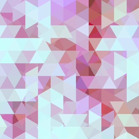 Background of blue, pink geometric shapes. Abstract triangle geometrical background. Mosaic pattern. Vector EPS 10. Vector illustration Ilustración de vector
