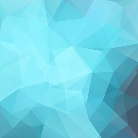 Background made of blue triangles. Square composition with geometric shapes. Eps 10