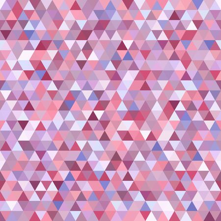 Abstract background consisting of pastel pink triangles. Geometric design for business presentations or web template banner flyer.