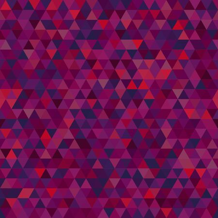 Abstract background consisting of purple triangles. Geometric design for business presentations or web template banner flyer. Illustration pattern. 일러스트