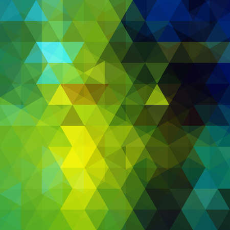 Abstract geometric style green' background. Vector illustration