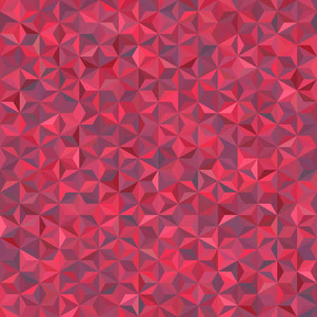 Abstract seamless background consisting of pink triangles. Geometric design for business presentations or web template banner flyer. Vector illustration