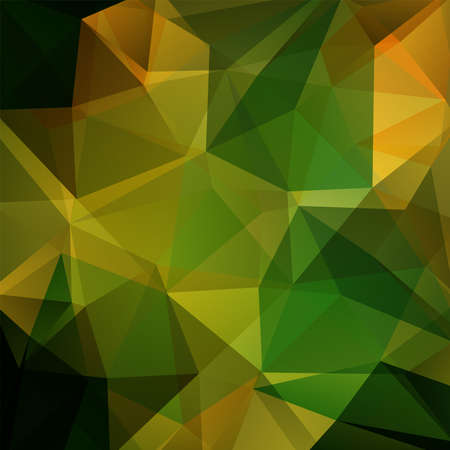 Abstract polygonal vector background. Green geometric vector illustration. Creative design template. Vectores