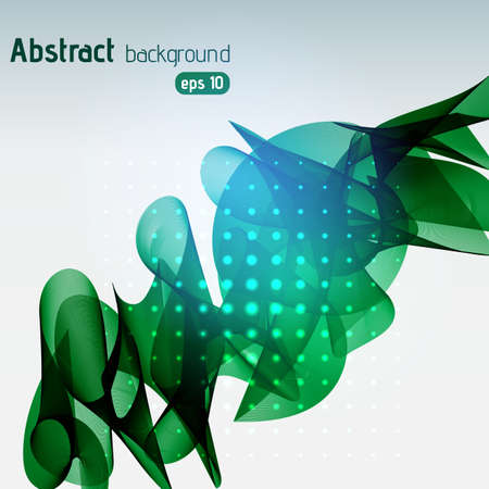 Abstract green template background.