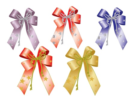 Bows and ribbons. Stock Vector - 11650784