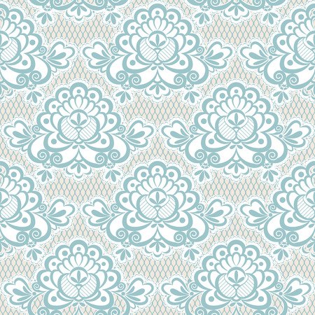 guipure: The texture of light blue lace guipure fabric. Seamless.